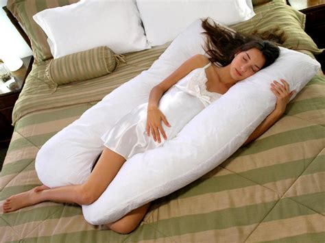 maternity pregnancy pillow u shaped white