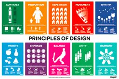 poster design elements and principles classroom posters crayola teachers