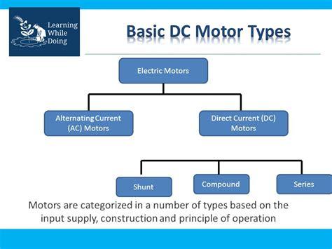 dc motor types electric dc motor vigyan ashram pabal ppt