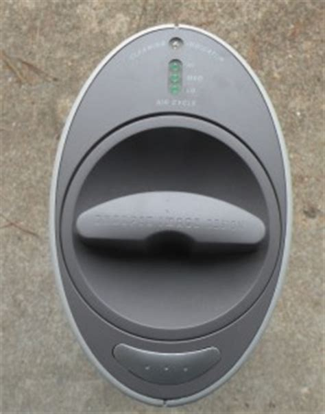 sharper image ionic quadra silent air purifier s1637 ebay