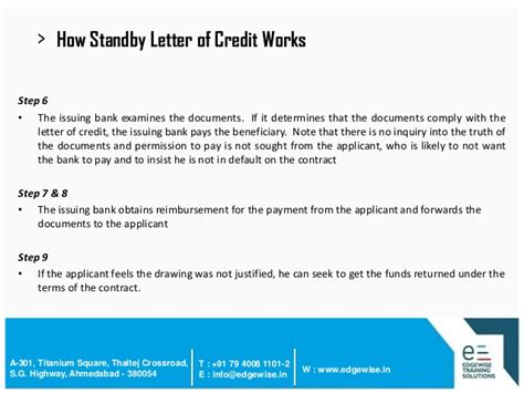 Letter Of Credit Non Fund Based Letter Of Credit Lc Presentation