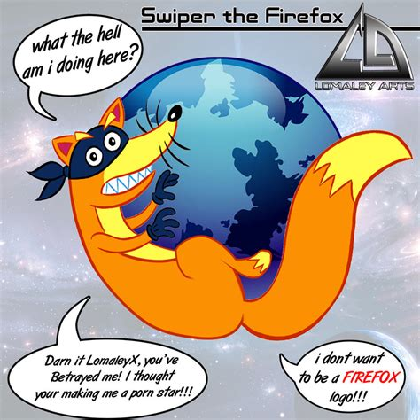 Swiper The Fox Meme - swiper firefox by lomzky on deviantart