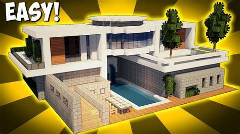 make a house a home minecraft how to build a large modern house tutorial