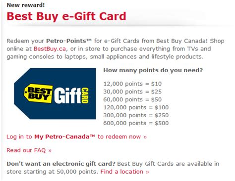 Bestbuy Ca Gift Card - petro points rewards are they worth it