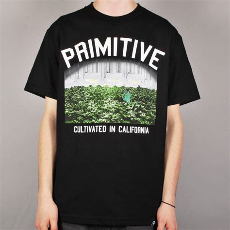 T Shirt Primitive Skateboard primitive apparel primitive garden skate t shirt black primitive apparel from skate