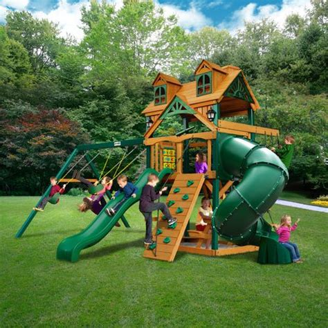extreme swing sets gorilla playsets malibu extreme swing set academy
