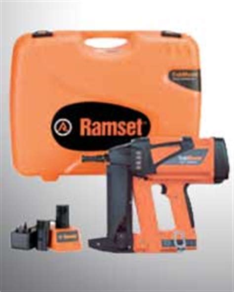 Ramset Trackmaster itw construction products singapore pte ltd ramset