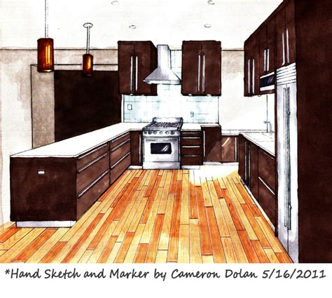 Marker Rendering Interior Design by Interior Design Rendering Smalltowndjs