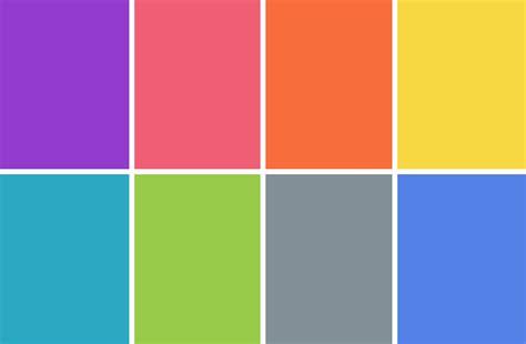 bright pastel color palette images