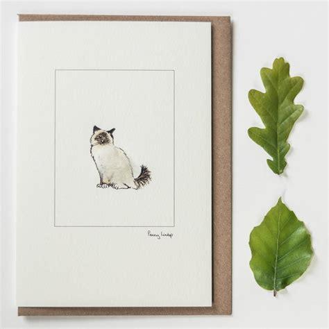 Handmade Cat Cards - handmade cat cards by lindop designs
