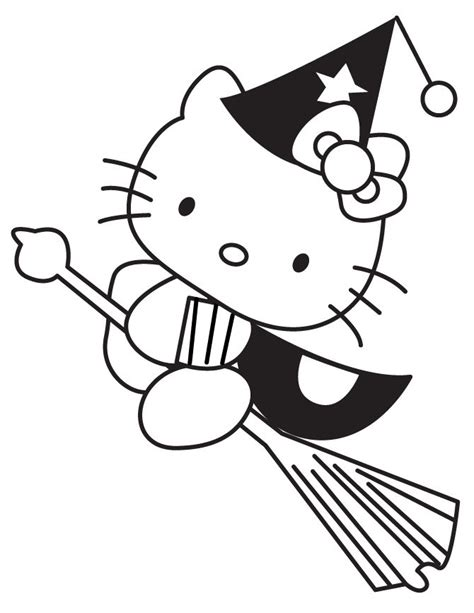 hello kitty pumpkin coloring page 19 best free printable hello kitty coloring pages images