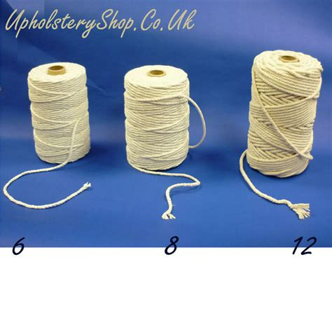 how to do upholstery piping cotton piping cord 6 upholsteryshop co uk