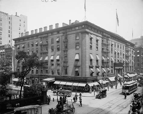 Daytonian In Manhattan The Lost 1836 Astor House Hotel