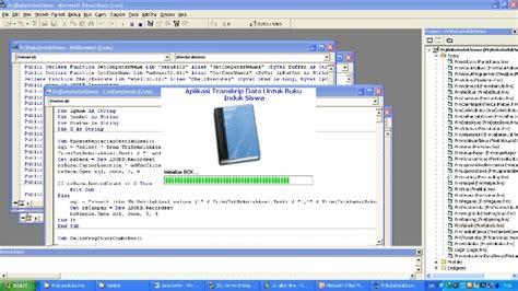 contoh laporan visual basic program aplikasi dengan visual basic contoh program