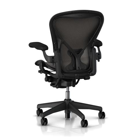 herman miller aeron chair classic carbon size