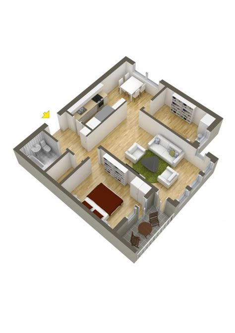 two bed room house 40 more 2 bedroom home floor plans