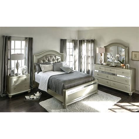 bedroom furniture king king bedroom set morrison 6 piece lastman s bad boy