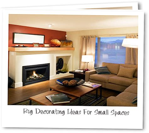 designer s look big decorating ideas for small spaces