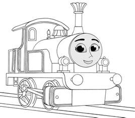thomas train diesel 10 coloring pages