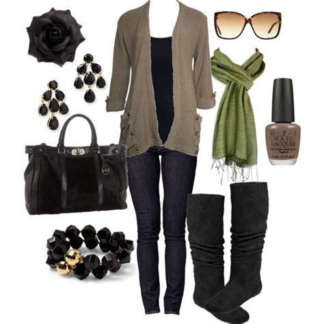 Fall Looks For by Fall Fashion Styled Through