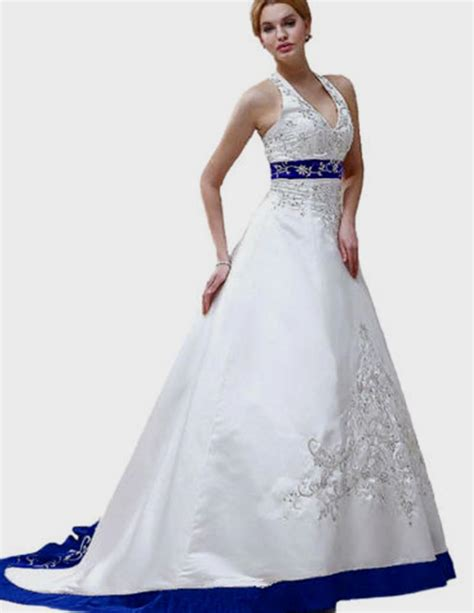 white and blue wedding dresses white and blue wedding dresses naf dresses