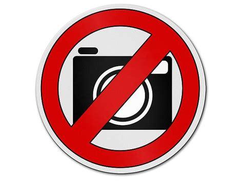 Aufkleber Kennzeichen Verboten by Verbotszeichen Aus Aluminium Fotografieren Verboten