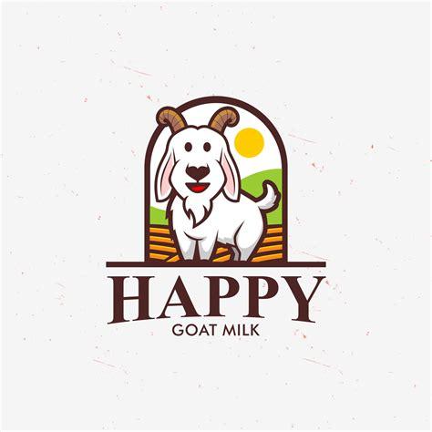 sribu desain logo logo desain happy goat milk  pr
