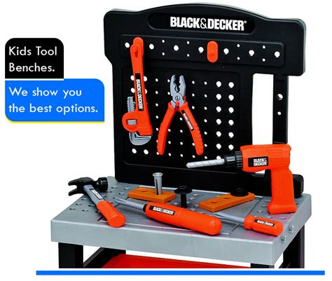 kids tool bench black and decker best toddler workbench for your child reviews
