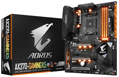 gigabyte ax370 gaming k5 ddr4 sdram dimm 2133 2400 2667