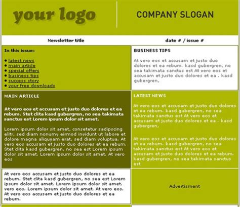 high school newsletter template high school newsletter templates free