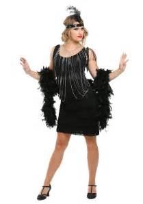 1920 s halloween costumes black fringe 1920 s flapper costume