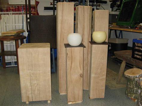 sockel kaufen eichenholz sockel stele s 228 ule podest fundament in
