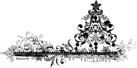 images of christmas black and white black and white vintage christmas clipart clipartxtras