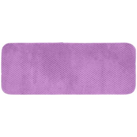 accent rugs for bathroom garland rug cabernet purple 22 in x 60 in washable