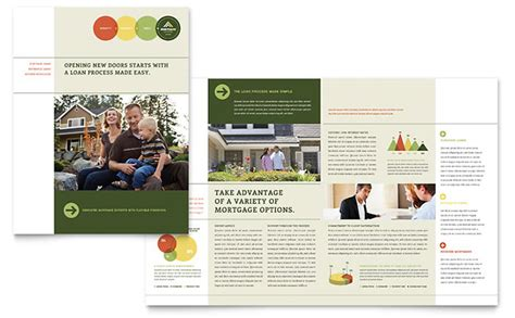 free mortgage flyer templates mortgage broker brochure template design