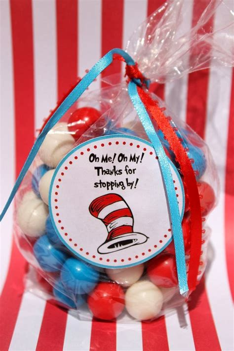 Dr Seuss Baby Shower Favors by Giggle Bean Dr Seuss Decorations