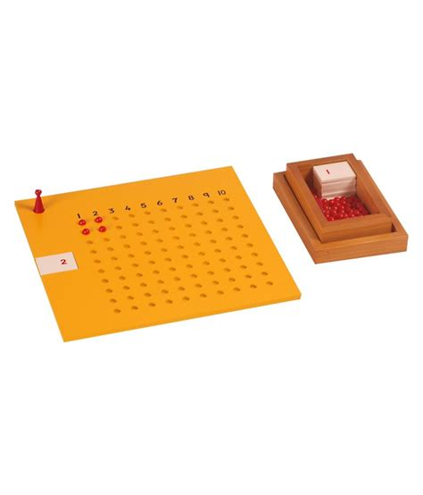 printable montessori multiplication board kidken montessori multiplication board with bead box buy