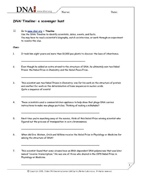 Dna The Secret Of Worksheet by Dna The Secret Of Worksheet Worksheets Releaseboard