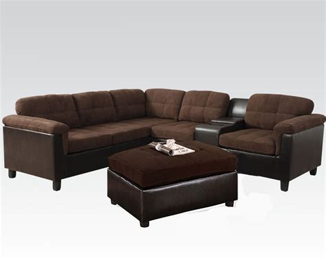 sectional sofa set easy rider reversible sectional sofa set cleavon by acme