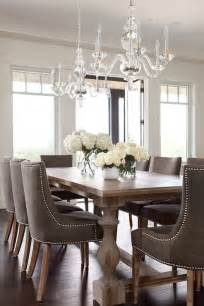 Dining Room Table Light Ideas Taupe Dining Chairs Traditional Dining Room Moeski