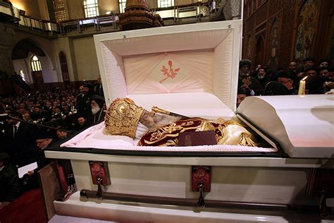 funeral service for our honoured high priest pope shenouda