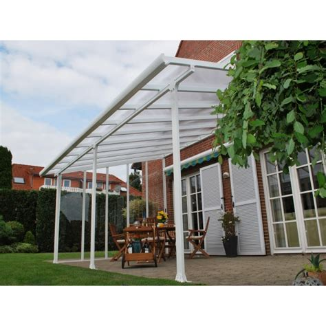 Palram Patio Covers by Palram 13x34 Feria Patio Cover Kit White Hg9234