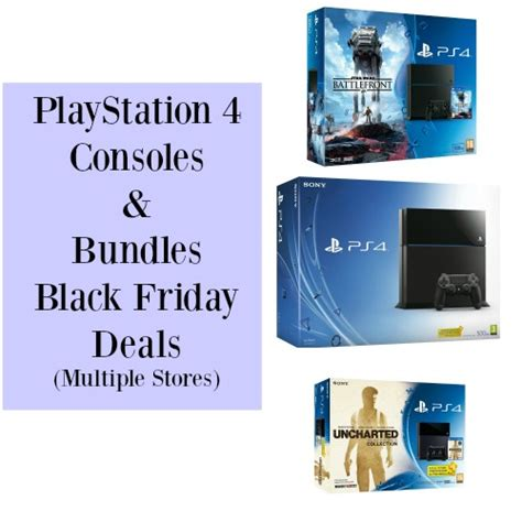 playstation 4 console deals ps4 bundles and console black friday deals stores