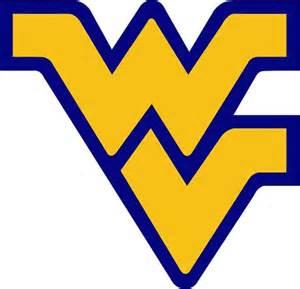 Simple Online Cad wvu west virginia university mountaineers blue outline