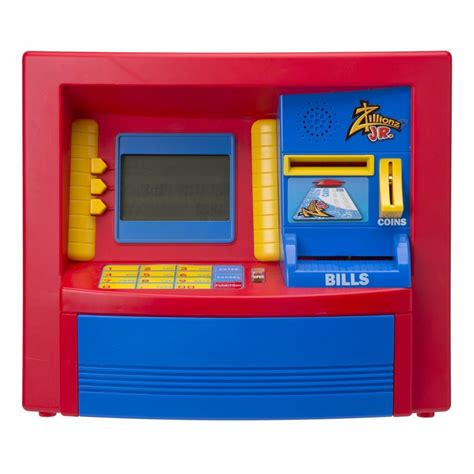 atm bank savings goal atm bank jr banks vaults and safes by zillionz