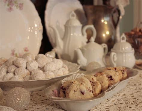 kitchen tea party ideas all things sweet chigarden bellas rose cottage christmas cookies and tea tea