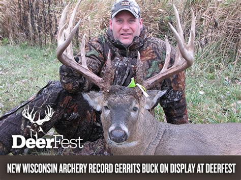 Wisconsin Records World Record Buck Wisconsin