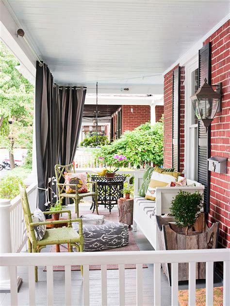 Front Porch Curtains 55 Front Verandah Ideas And Improvement Designs Renoguide