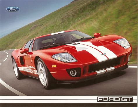 Ford Gt Specs by 2005 Ford Gt Technical Specifications Postcard Page 2011