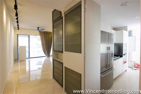 interior kitchen doors singapore condominium parc seabreeze renovation by raymond